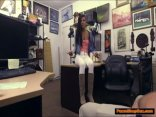 Black Chick Suck Pawnshopowner In Office